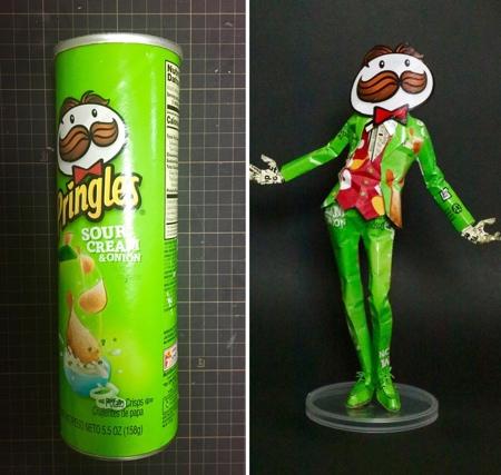 Pringles Can Art
