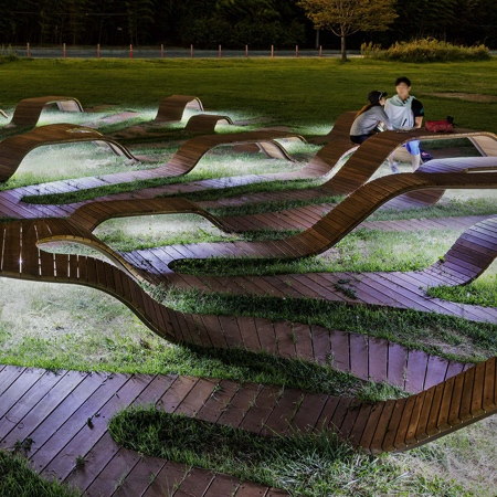 Root Bench by Yong Ju Lee