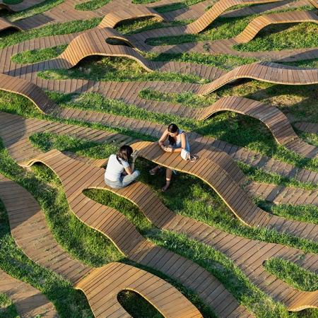 Yong Ju Lee Root Bench
