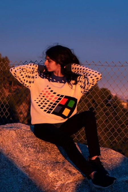 Windows 95 Christmas Sweater