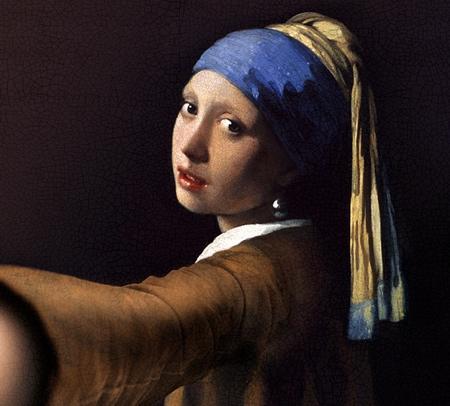 Classic Painting Selfie