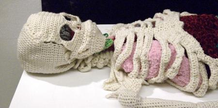 Crocheted Skeleton