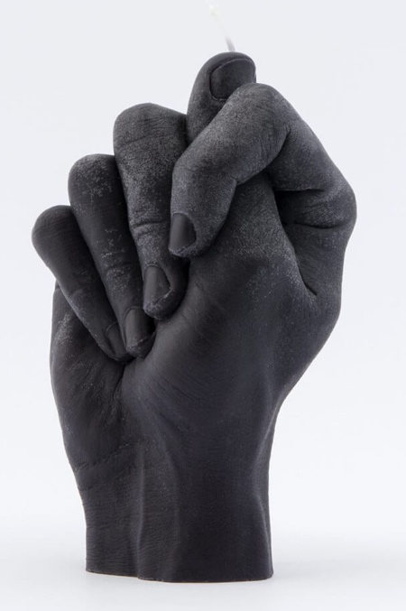 Hand Shaped Candle