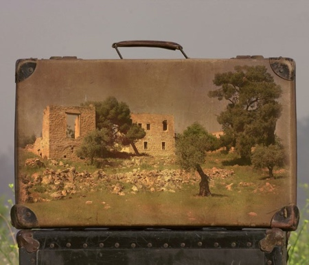 Suitcases Paintings