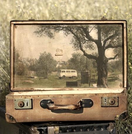 Yuval Yairi Suitcase Paintings