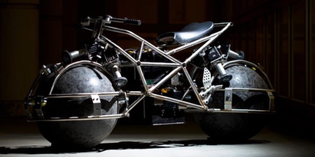 Omnidirectional Motorcycle