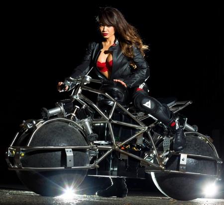 Omnidirectional Motorcycle Concept