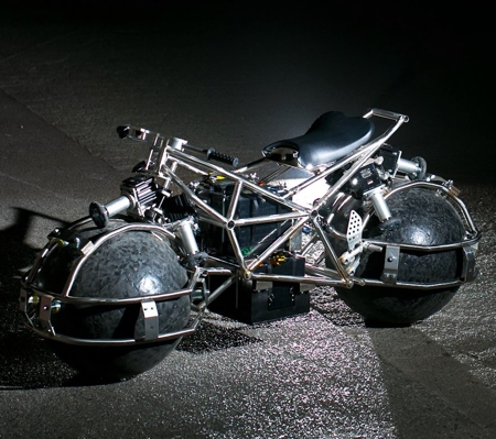 Spherical Motorcycle