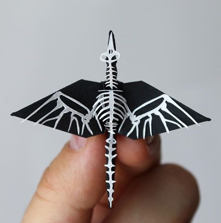 Cristian Marianciuc Origami Paper Cranes