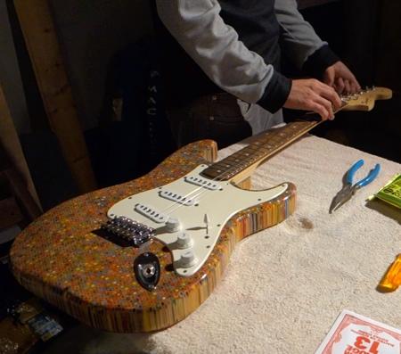 Pencil Electric Guitar