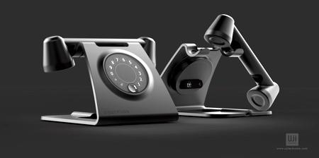 Retro Futuristic Home Phone
