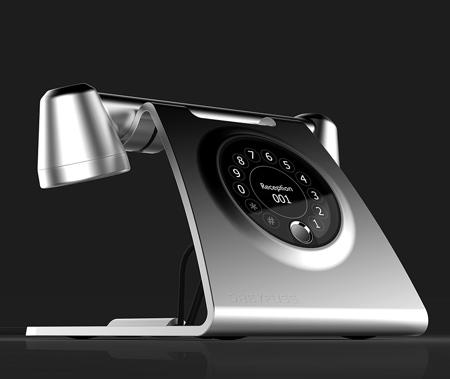 Retro Futuristic Phone