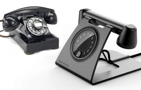 Retro Futuristic Phone Concept