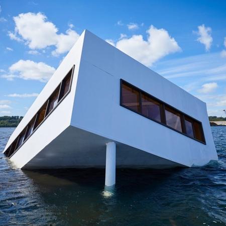 Sinking Villa Savoye