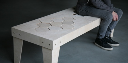 Soft Wooden Bench