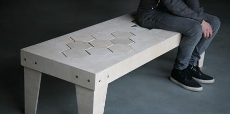 Soft Wooden Bench