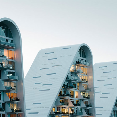 Wave Shaped Building