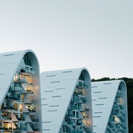 Wave Apartment Building