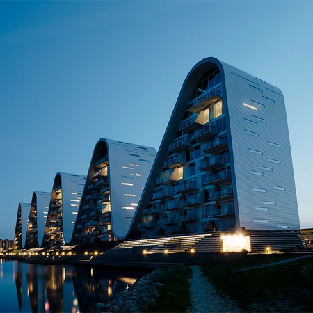 Wave Building in Denmark