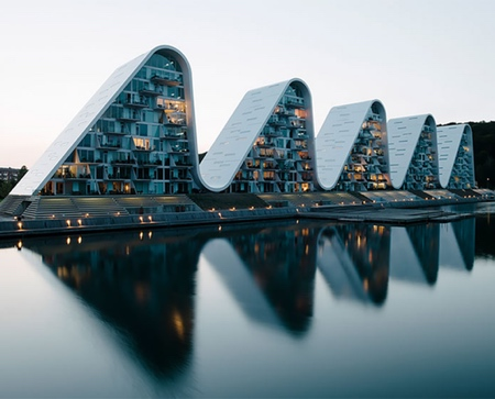 Henning Larsen Wave Building