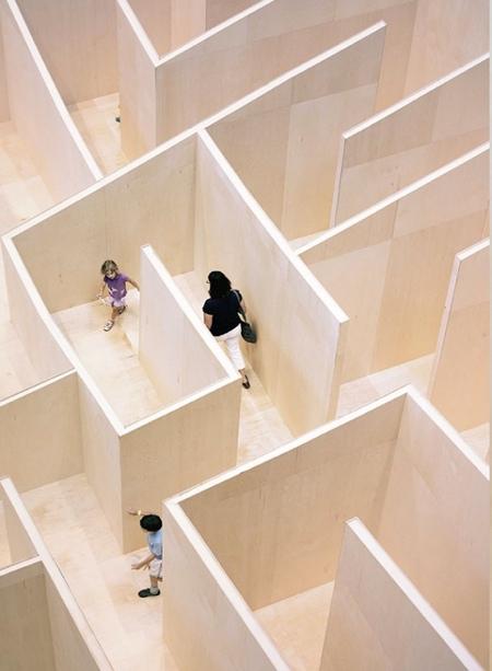 Plywood Maze