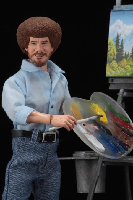 Bob Ross Action Figure