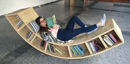 Bookcase Lounge Chair