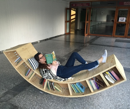 Bookshelf Lounge Chair