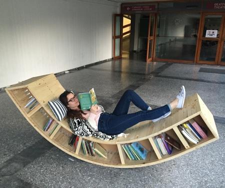 Bookshelf Lounge Chair