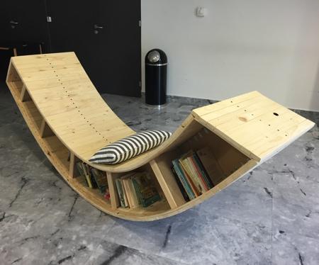 Book Lounge Chair
