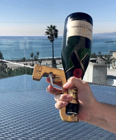Champagne Bottle Gun