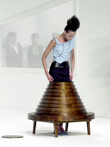 Hussein Chalayan Coffee Table Skirt