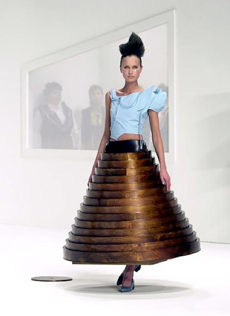 Hussein Chalayan Table Skirt