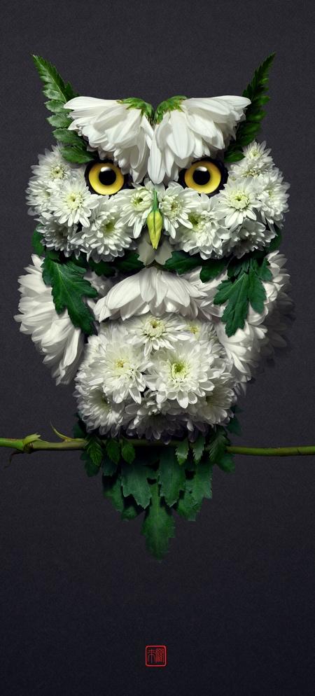Raku Inoue Flower Animals