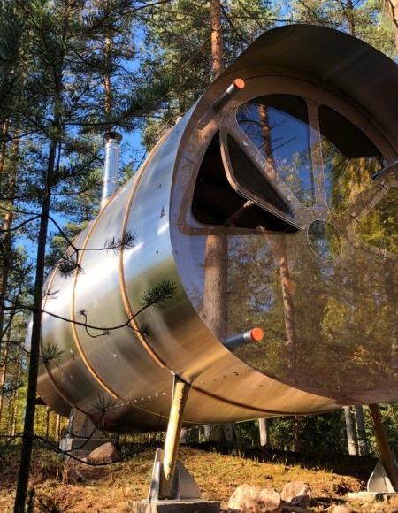 Aluminum Cabin