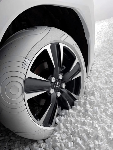 Nike Car Tire