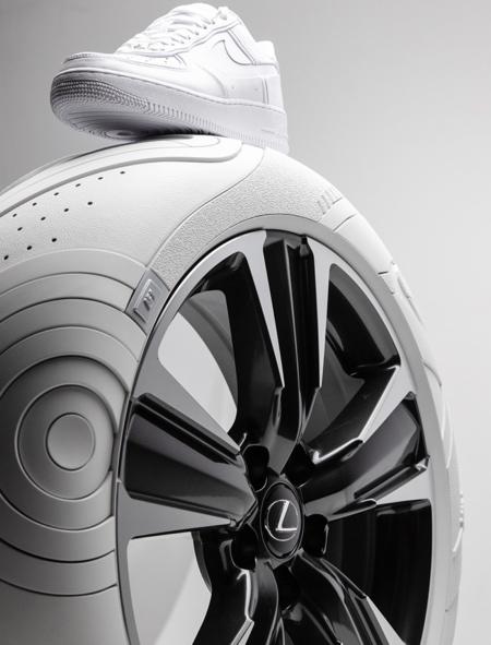 Lexus Nike Tires