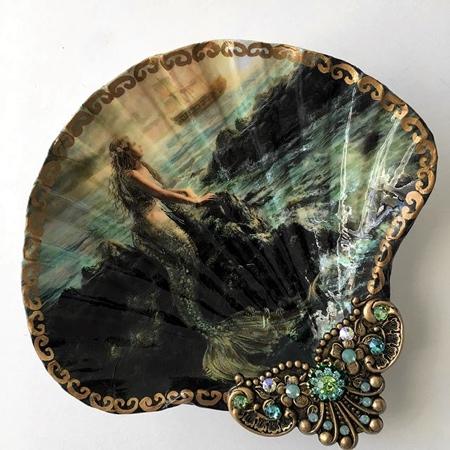 Sea Shell Paintings