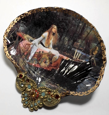 Mary Kenyon Seashell Paintings