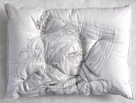 Embroidered Sleep Pillows