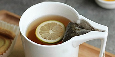 Tea Bag Holder Mug