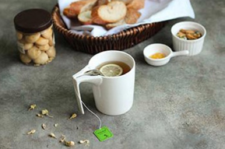 Tea Bag Slotted Cup