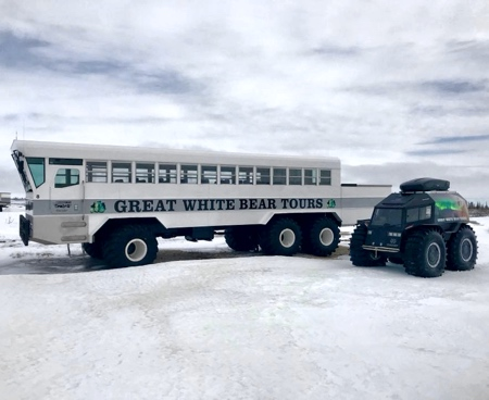 Arctic Hotel on Wheels