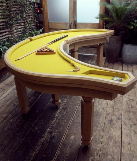 Cleon Daniel Banana Pool Table