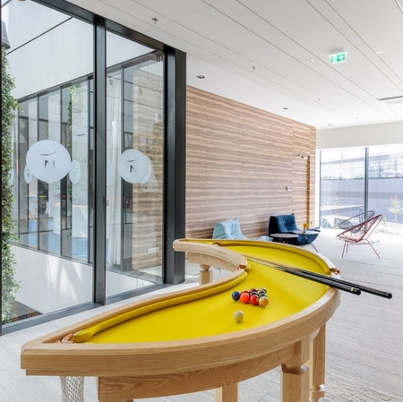 Banana Billiards Table