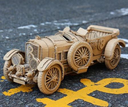 Japanese Cardboard Artist