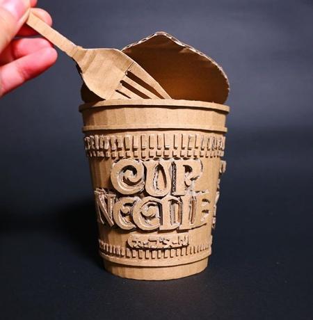 Japanese Cardboard Artist Monami Ohno