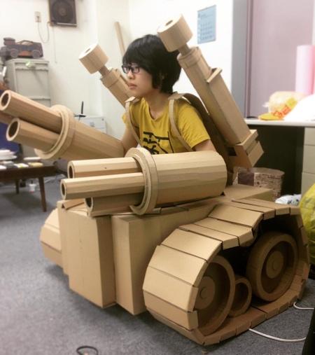 Monami Ohno Cardboard Creations