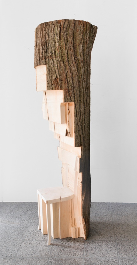 Alicja Kwade Carved Furniture