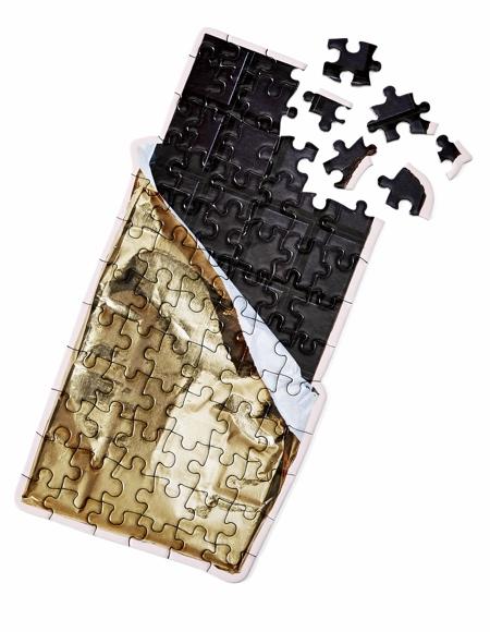 Chocolate Bar Jigsaw Puzzle